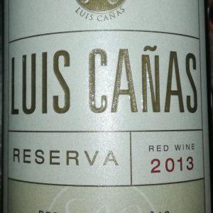 Luis Cañas Reserva, 2013
