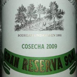 La Rioja Alta Gran Reserva 904, 2009