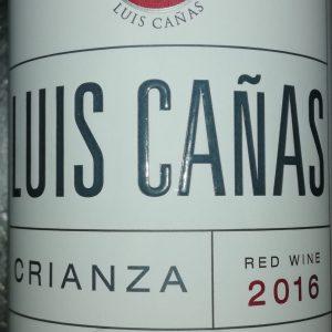 Luis Cañas Crianza 0,5L, 2016