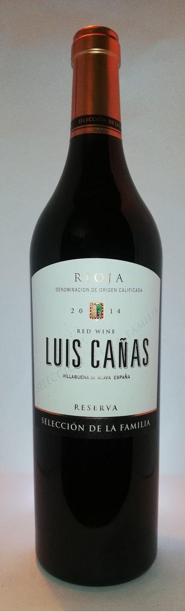 Luis Cañas Familia Rerserva