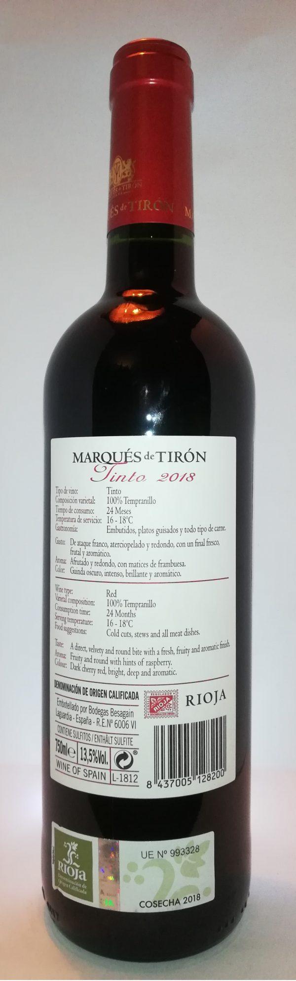 Marqués de Tirón B